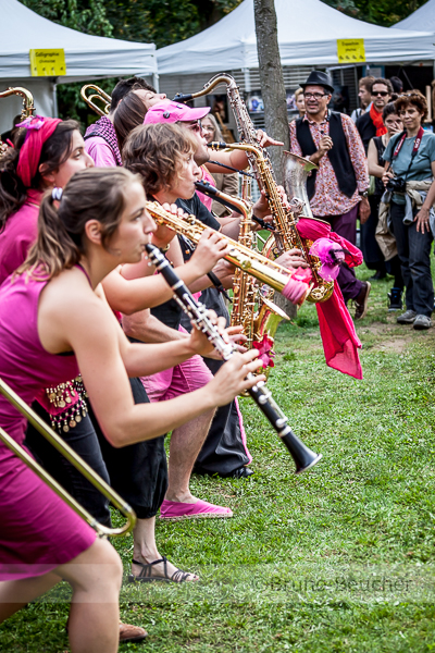 La Fanfare Pink it Black
