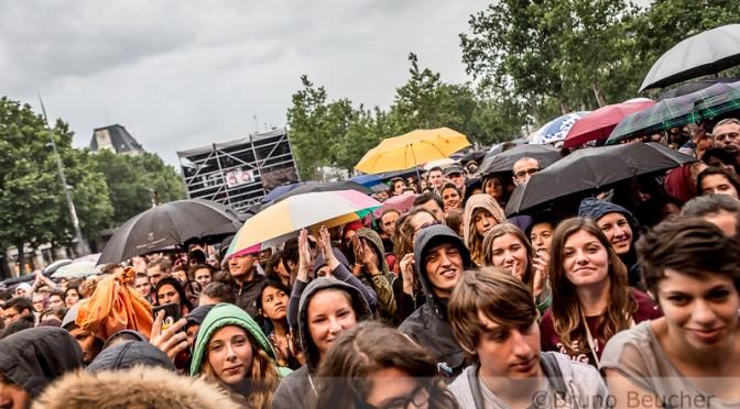 Live Report : Festival Soirs d'Eté – 8 Juillet 2014 – Place de la République (Paris)