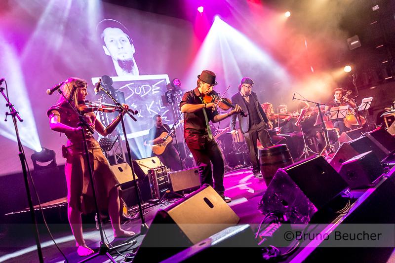 The Crook & the Dylan's + Lara la guerrière + quatuor à cordes