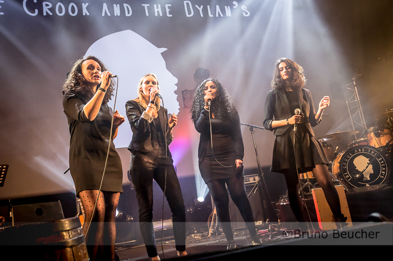 The Crook & the Dylan's + les merveilleuses choristes