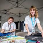 Andréa et Alison : bénévoles du festival
